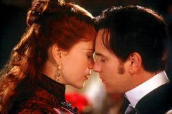Nicole Kidman and Ewan McGregor in Moulin Rouge.