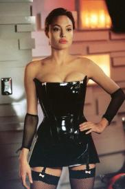 Angelina Jolie in Mr. and Mrs. Smith.