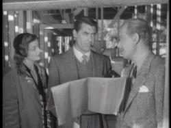 Myrna Loy, Cary Grant and Melvyn Douglas in Mr. Blandings Builds His Dream House.