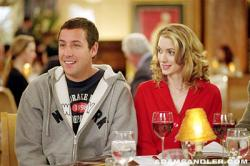 Adam Sandler and Winona Ryder in Mr. Deeds.