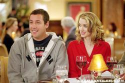 Adam Sandler and Winona Ryder in Mr. Deeds.