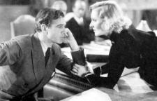 Gary Cooper and Jean Arthur proving that no good deed goes unanswered.