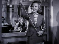 Jean Arthur in Mr. Deeds Goes to Town.