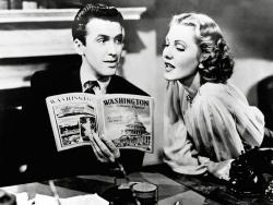 James Stewart and Jean Arthur in Mr. Smith Goes to Washington.