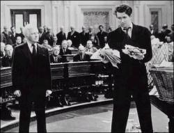 Claude Rains and James Stewart.