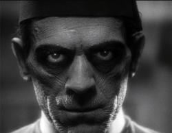 Boris Karloff as The Mummy.