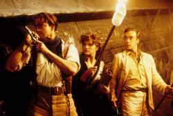Brendan Fraser, Rachel Weisz and John Hannah in The Mummy.