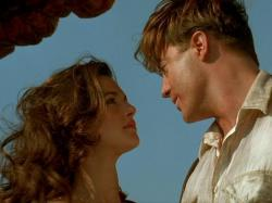 Rachel Weisz and Brendan Fraser in Mummy Returns.