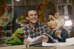 Jason Segel, a Muppet fan.