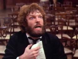 Richard Chamberlain as Tchaikovsky in The Music Lovers.