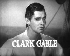 Clark Gable shaved his famous moustache for the part.