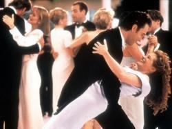Rupert Everett and Julia Roberts in My Best Friend's Wedding.