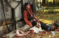 Frankie Muniz and Skip in My Dog Skip.