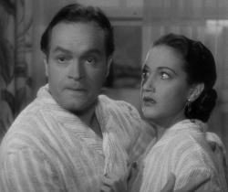 Bob Hope and Dorothy Lamour in My Favorite Brunette.