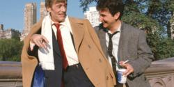 Peter O'Toole and Mark Linn-Baker in My Favorite Year.