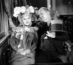 Mae West and W.C. Fields in My Little Chickadee.