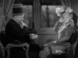 W.C. Fields and Mae West ham it up in My Little Chickadee.