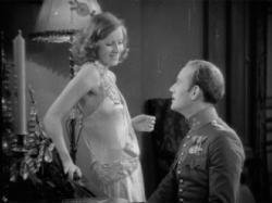 Greta Garbo and Conrad Nagel in The Mysterious Lady