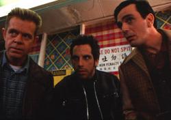 William H. Macy, Ben Stiller and Hank Azaria in Mystery Men.