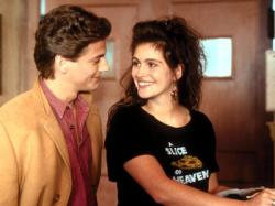 Julia Roberts landed her first starring role in Mystic Pizza.