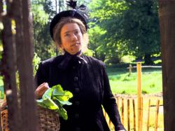 Emma Thompson in Nanny McPhee.