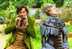 Colin Firth and Angela Lansbury in Nanny McPhee
