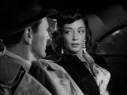 Charles McGraw and Marie Windsor in The Narrow Margin.