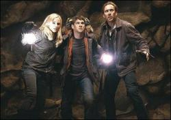 Diane Kruger, Justin Bartha and Nicolas Cage in National Treasure: Book of Secrets.