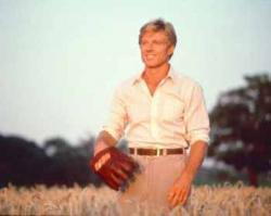 Robert Redford in The Natural.