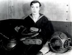 Buster Keaton in The Navigator.
