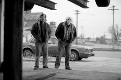 Will Forte and Bruce Dern in Nebraska.