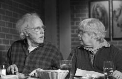 Bruce Dern and June Squibb in Nebraska.