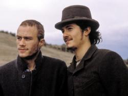 Heath Ledger and Orlando Bloom in Ned Kelly.