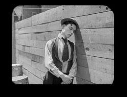 Buster Keaton in Neighbors.