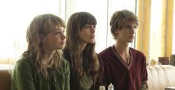 Carey Mulligan, Keira Knightley and Andrew Garfield in Never Let Me Go.