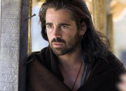 Colin Farrell in The New World.