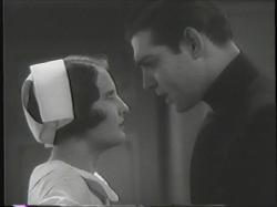 Barbara Stanwyck faces off against Clark Gable in Night Nurse.