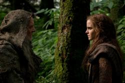Anthony Hopkins and Emma Watson in Noah.
