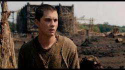 Logan Lerman as Ham in Noah