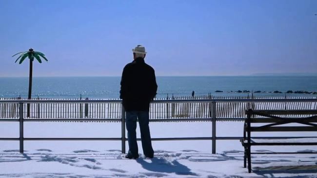 Norman Lear on the Coney Island Boardwalk in Norman Lear: Just Another Version of You.