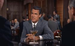 Cary Grant in North by Northwest.