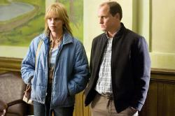Charlize Theron and Woody Harrelson in North Country.
