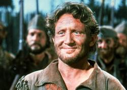 Spencer Tracy as Major Robert Rogers in Northwest Passage.