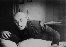 Max Schreck as Count Orlock is the best thing this movie has going for it.