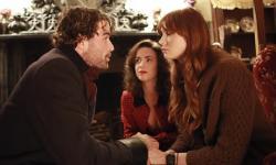 Stanley Weber, Amy Manson and Karen Gillan in Not Another Happy Ending.