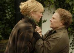 Cate Blanchett and Judi Dench face off in Notes on a Scandal.