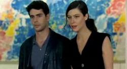 Eduardo Noriega and Anna Mouglalis in Novo.