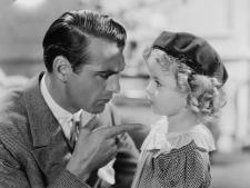 Gary Cooper and Shirley Temple.