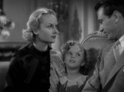 Carole Lombard, Shirley Temple and Gary Cooper in Now and Forever.