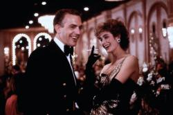 Kevin Costner and Sean Young in No Way Out.